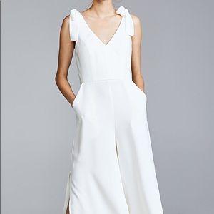 Amanda Uprichard white jumpsuit